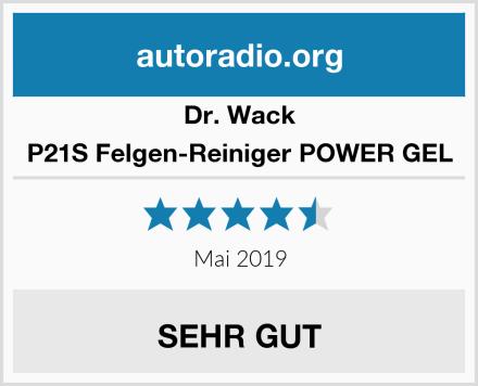 Dr. Wack P21S Felgen-Reiniger POWER GEL Test