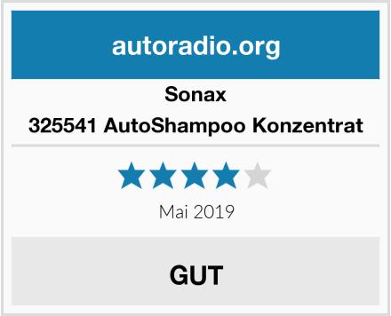Sonax 325541 AutoShampoo Konzentrat Test