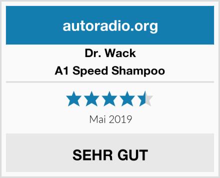 Dr. Wack A1 Speed Shampoo Test
