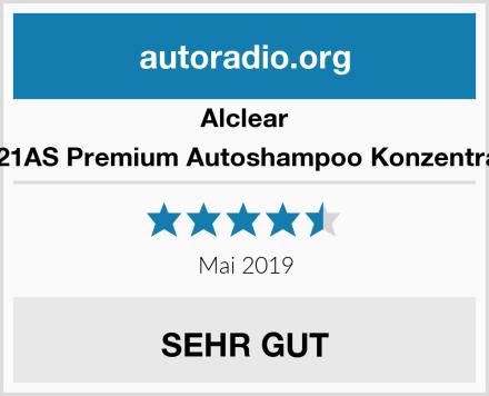 Alclear 721AS Premium Autoshampoo Konzentrat Test
