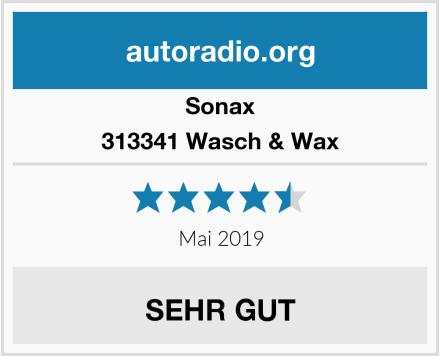 Sonax 313341 Wasch & Wax Test