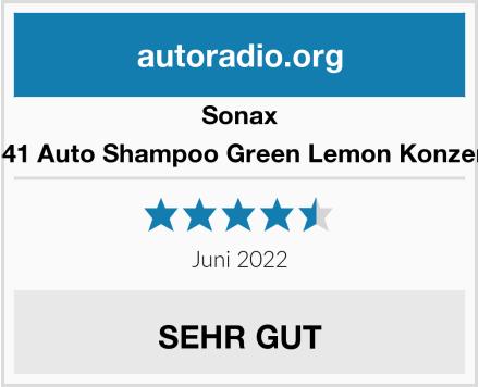 Sonax 324541 Auto Shampoo Green Lemon Konzentrat Test