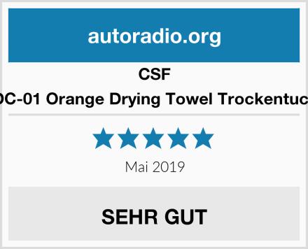 CSF DC-01 Orange Drying Towel Trockentuch Test