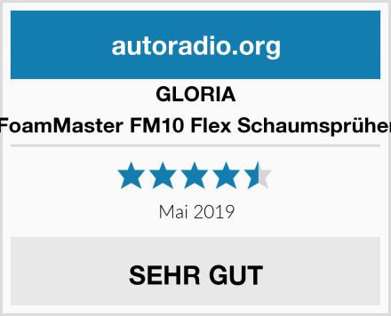 GLORIA FoamMaster FM10 Flex Schaumsprüher Test