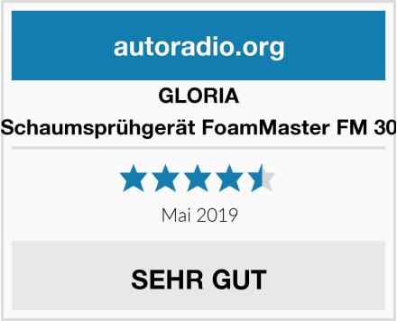GLORIA Schaumsprühgerät FoamMaster FM 30 Test