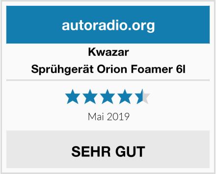 Kwazar Sprühgerät Orion Foamer 6l Test