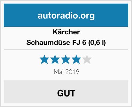 Kärcher Schaumdüse FJ 6 (0,6 l) Test