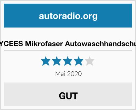SYCEES Mikrofaser Autowaschhandschuh Test