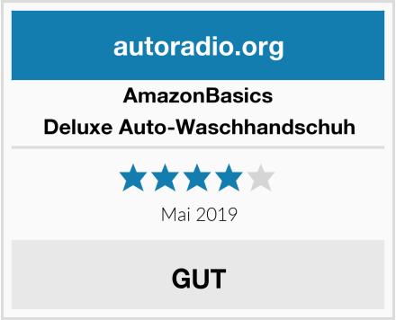 AmazonBasics Deluxe Auto-Waschhandschuh Test