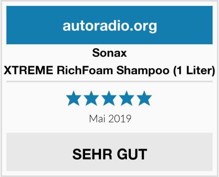 Sonax XTREME RichFoam Shampoo (1 Liter) Test