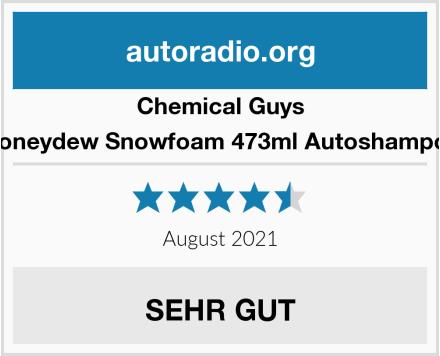 Chemical Guys Honeydew Snowfoam 473ml Autoshampoo Test