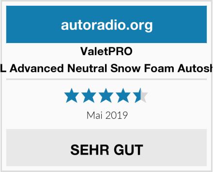 ValetPRO EC19-5L Advanced Neutral Snow Foam Autoshampoo Test