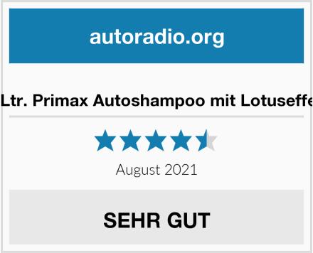 No Name 10Ltr. Primax Autoshampoo mit Lotuseffekt Test