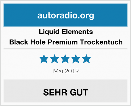 Liquid Elements Black Hole Premium Trockentuch Test