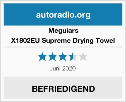 Meguiars X1802EU Supreme Drying Towel Test