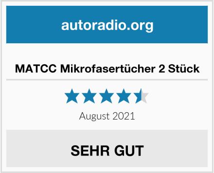 No Name MATCC Mikrofasertücher 2 Stück Test