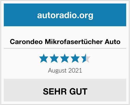 Carondeo Mikrofasertücher Auto Test