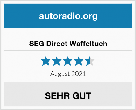 SEG Direct Waffeltuch Test