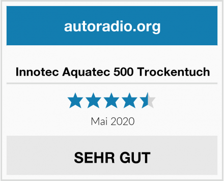 Innotec Aquatec 500 Trockentuch Test