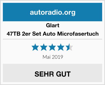 Glart 47TB 2er Set Auto Microfasertuch Test