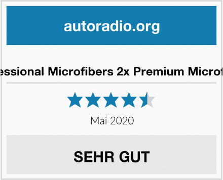No Name O'clin Professional Microfibers 2x Premium Microfasertücher Test