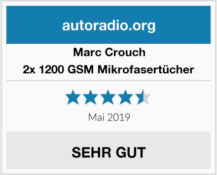 Marc Crouch 2x 1200 GSM Mikrofasertücher Test