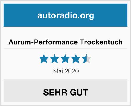 Aurum-Performance Trockentuch Test