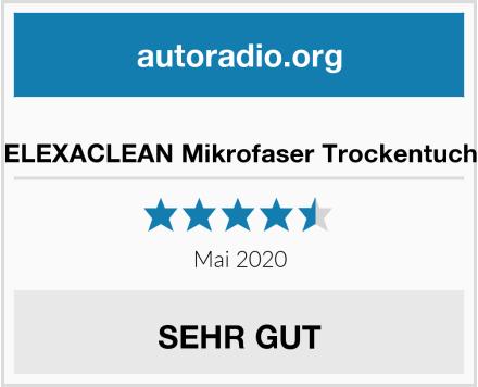 ELEXACLEAN Mikrofaser Trockentuch Test
