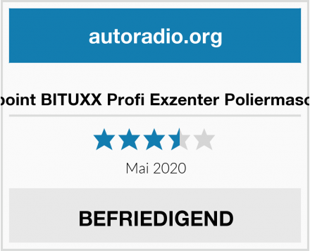 No Name ms-point BITUXX Profi Exzenter Poliermaschine Test