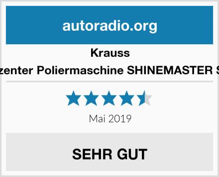 Krauss Exzenter Poliermaschine SHINEMASTER S15 Test