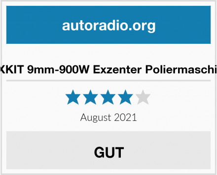 FIXKIT 9mm-900W Exzenter Poliermaschine Test