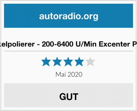 Hofftech Winkelpolierer - 200-6400 U/Min Excenter Poliermaschine Test