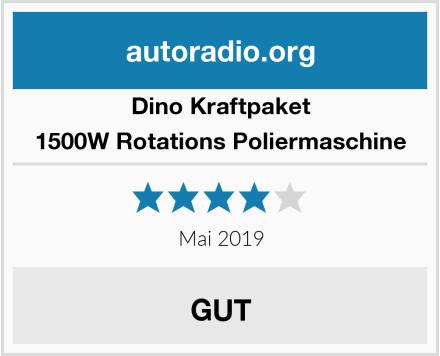 Dino Kraftpaket 1500W Rotations Poliermaschine Test