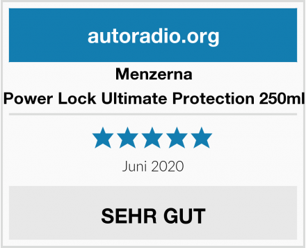 Menzerna Power Lock Ultimate Protection 250ml Test