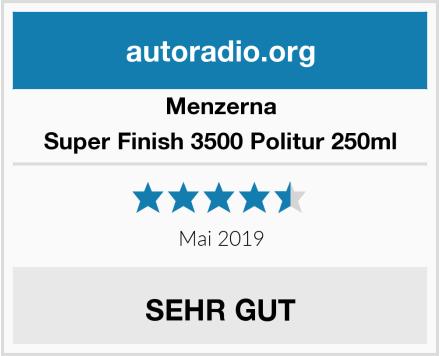 Menzerna Super Finish 3500 Politur 250ml Test