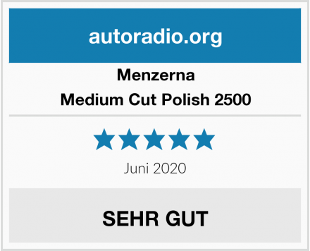 Menzerna Medium Cut Polish 2500 Test