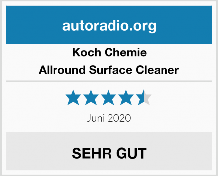 Koch Chemie Allround Surface Cleaner Test