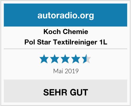 Koch Chemie Pol Star Textilreiniger 1L Test
