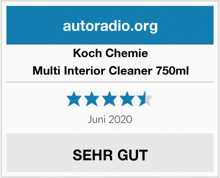 Koch Chemie Multi Interior Cleaner 750ml Test