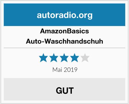 AmazonBasics Auto-Waschhandschuh Test