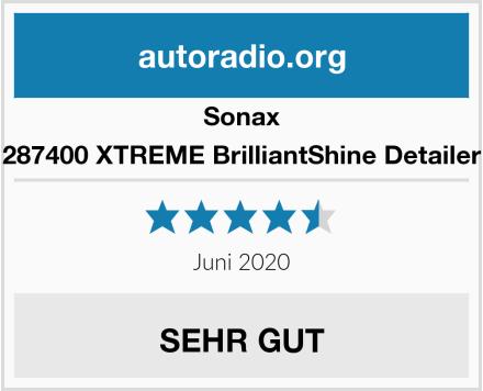 Sonax 287400 XTREME BrilliantShine Detailer Test
