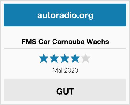 No Name FMS Car Carnauba Wachs Test