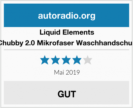 Liquid Elements Chubby 2.0 Mikrofaser Waschhandschuh Test