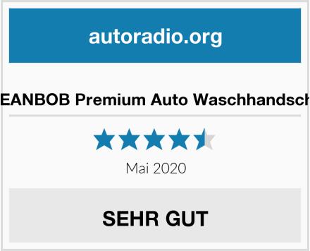 CLEANBOB Premium Auto Waschhandschuh Test