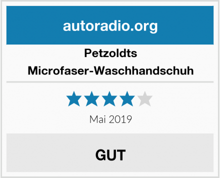 Petzoldts Microfaser-Waschhandschuh Test