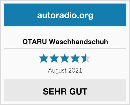 OTARU Waschhandschuh Test