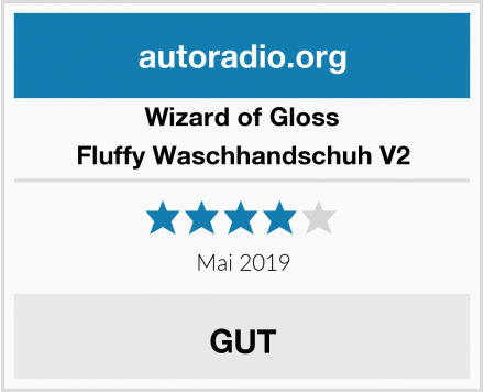 Wizard of Gloss  Fluffy Waschhandschuh V2 Test