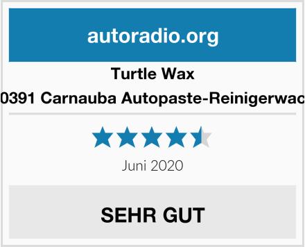 Turtle Wax 50391 Carnauba Autopaste-Reinigerwach Test