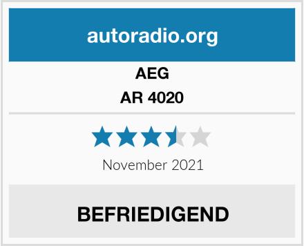 AEG AR 4020 Test