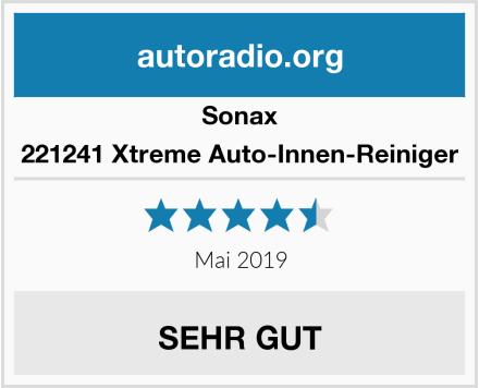 Sonax 221241 Xtreme Auto-Innen-Reiniger Test